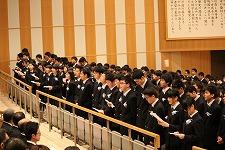 ⑫卒業の歌