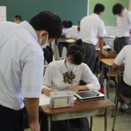 明日より、前期中間試験がスタートします。