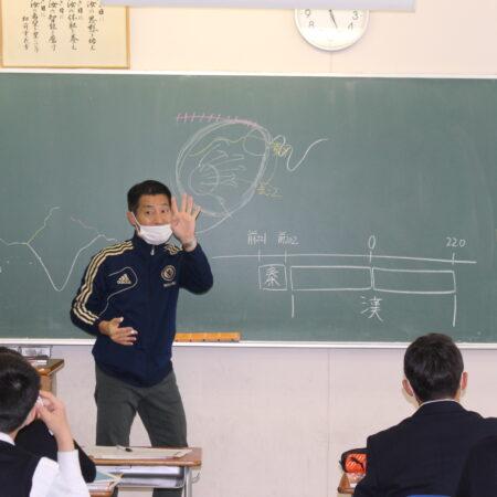 2年生英数、歴史を学んでいます。