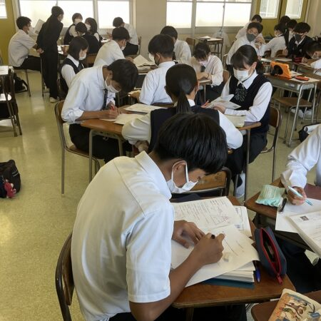 高校3年生 世界史の授業