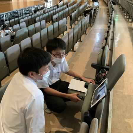 台湾Wandan中学とオンライン交流